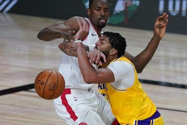 Anthony Davis, Serge Ibaka, Lakers, Raptors