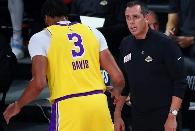 Anthony Davis, Frank Vogel, Lakers