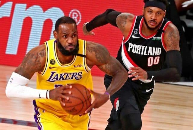 Carmelo Anthony, LeBron James