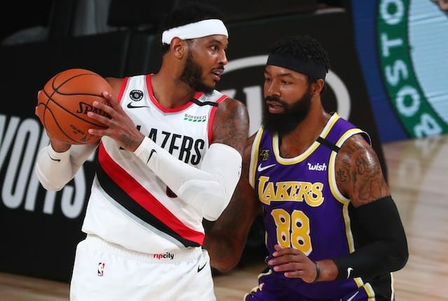 Carmelo Anthony, Markieff Morris, Lakers