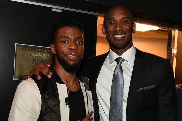 Chadwick Boseman, Kobe Bryant
