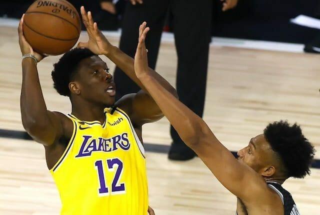 Devontae Cacok, Lakers, NBA
