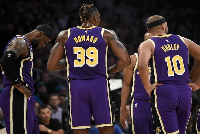Jared Dudley, Dwight Howard, LeBron James