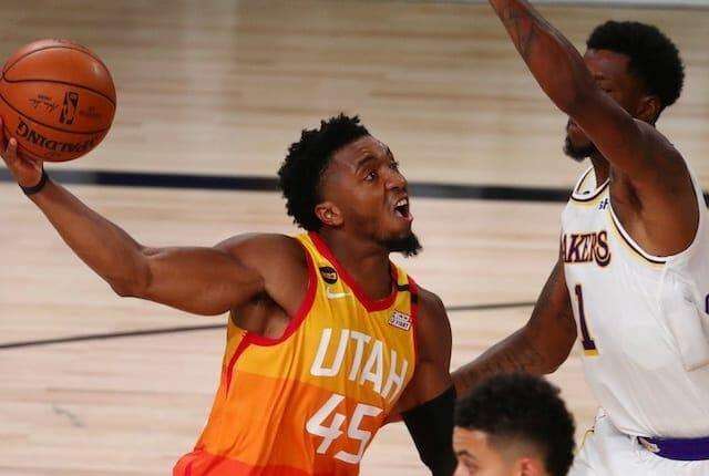 Kentavious Caldwell-Pope, Utah Jazz, Donovan Mitchell, Los Angeles Lakers
