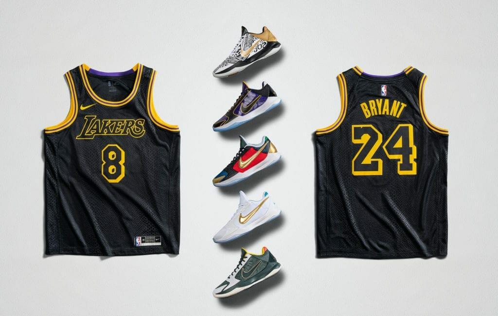 Kobe Bryant jersey, Nike Kobe 5 Protros, Mamba Week