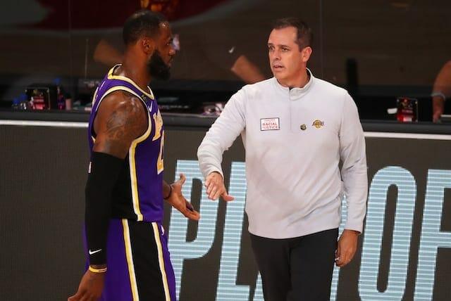 LeBron James, Frank Vogel, Lakers