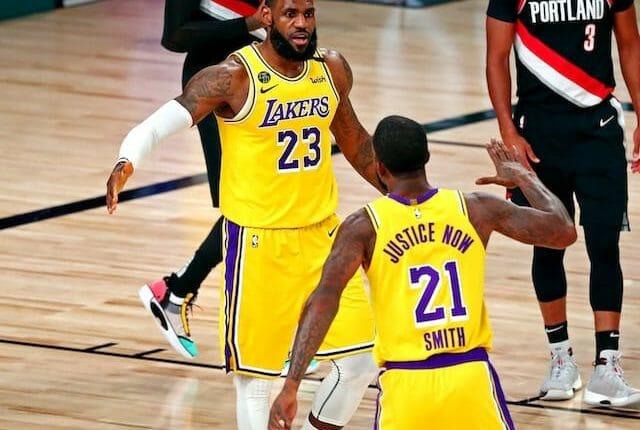 LeBron James, JR Smith