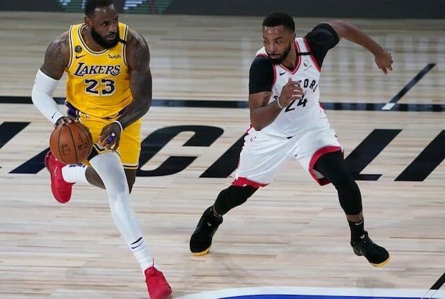 LeBron James, Lakers, Raptors