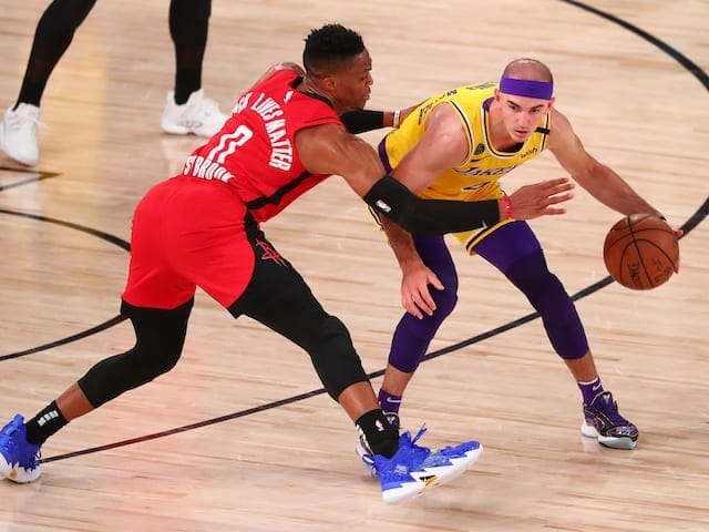 Alex Caruso, Russell Westbrook