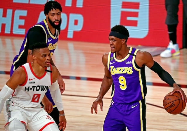 Lakers News: Rajon Rondo Downplays Bubble Incident, Past Issues With Russell Westbrook