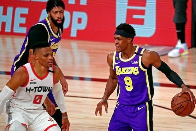 Anthony Davis, Rajon Rondo, Russell Westbrook, Lakers