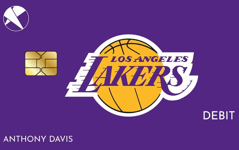 First Entertainment Lakers debit card