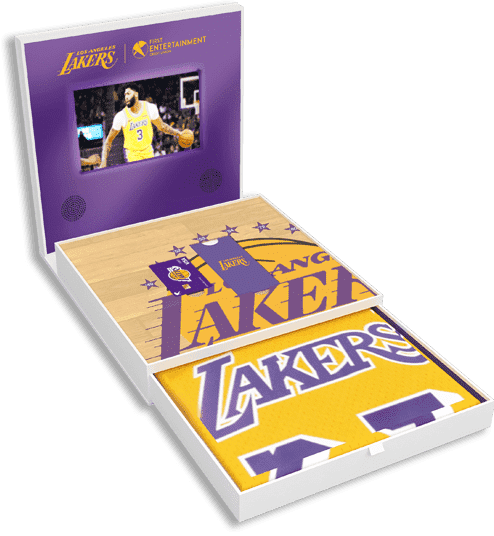 First Entertainment limited edition Lakers kit