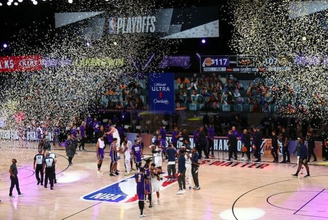 Lakers, Western Conference Finals champions