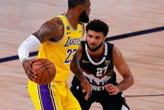 LeBron James, Jamal Murray, Lakers, Nuggets