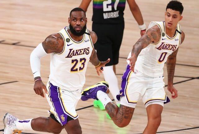 LeBron James, Kyle Kuzma