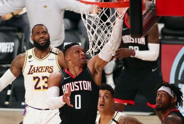 LeBron James, Kyle Kuzma, Russell Westbrook