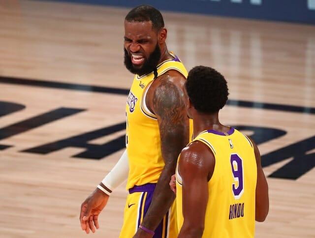 Lakers News: Rajon Rondo Says LeBron James Has 'The Blueprint' To Win