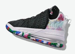 Nike LeBron 18 multicolor