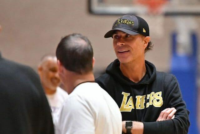 Rob Pelinka, Frank Vogel, Lakers