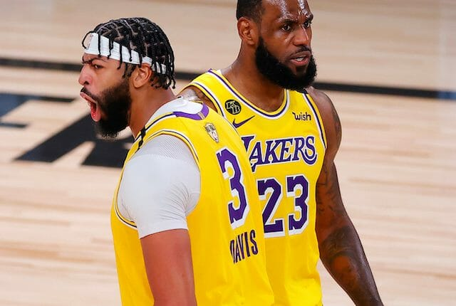 Lakers News: LeBron James, Anthony Davis May Change Jersey Numbers ...