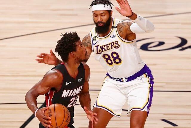 Jimmy Butler, Markieff Morris, Heat, Lakers