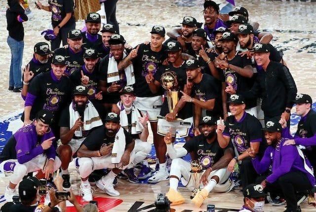 Lakers team photo