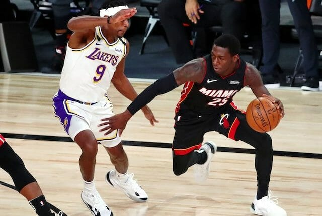 Rajon Rondo, Kendrick Nunn, Lakers