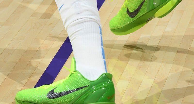 Anthony Davis, Nike Kobe 6 Grinch