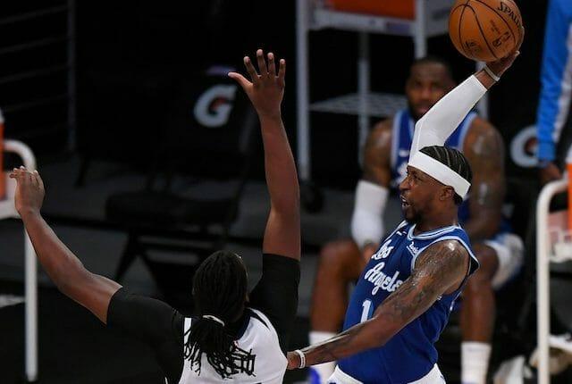Kentavious Caldwell-Pope, LeBron James, Lakers