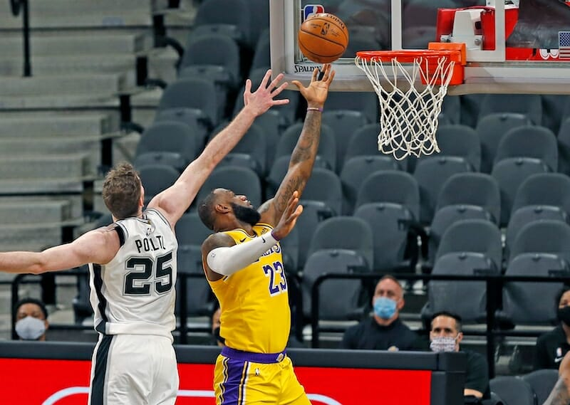 Lakers Vs. Spurs Game Preview & TV Info: LeBron James Ruled Out In First Road Game