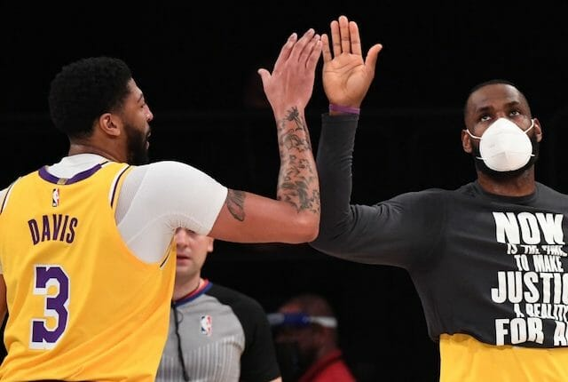 Anthony Davis, LeBron James