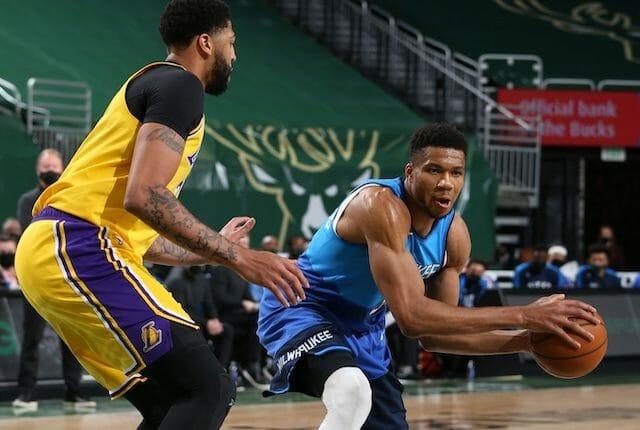 Giannis Antetokounmpo, Anthony Davis, Lakers