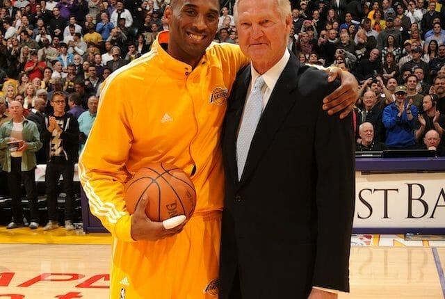 Kobe Bryant, Jerry West