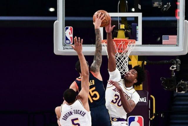 Talen Horton-Tucker, Damian Jones, Lakers