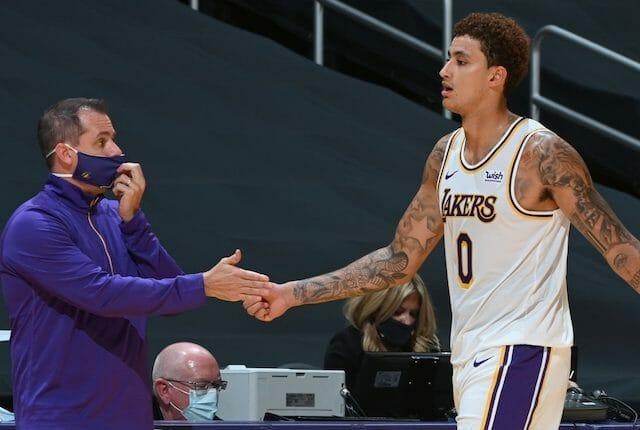 Kyle Kuzma, Frank Vogel, Los Angeles Lakers