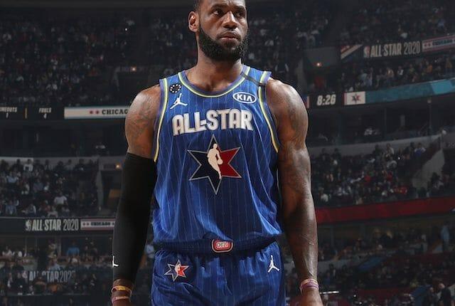 LeBron James, 2020 All-Star Game