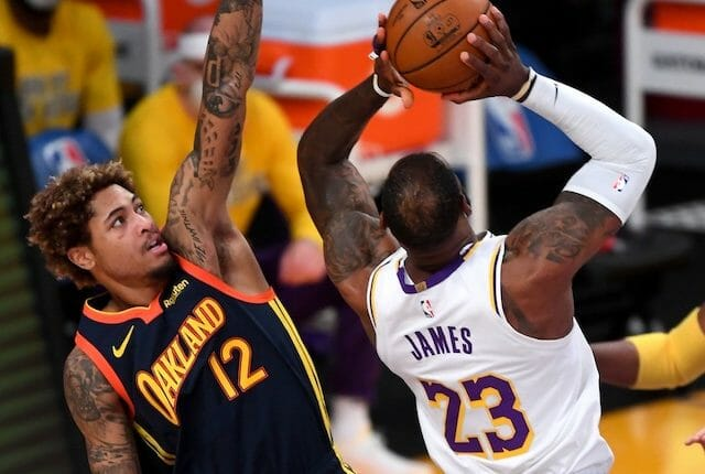 LeBron James, Lakers, Kelly Oubre, Warriors