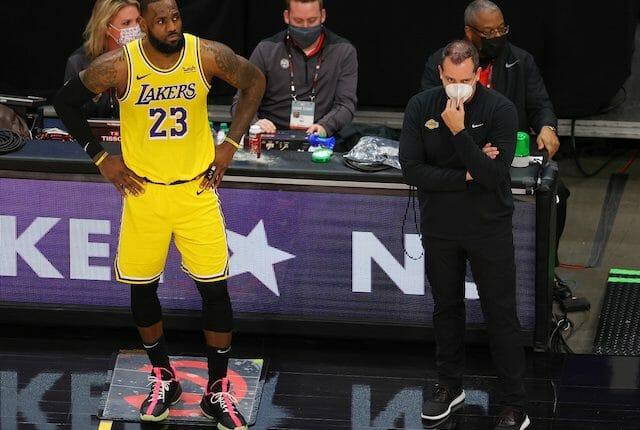 LeBron James, Frank Vogel, Los Angeles Lakers