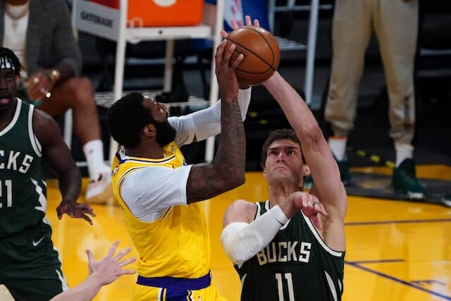 Andre Drummond, Brook Lopez, Lakers