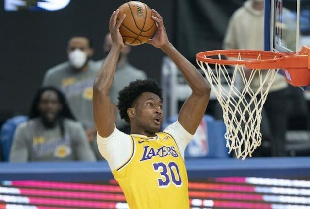 Damian Jones, Lakers