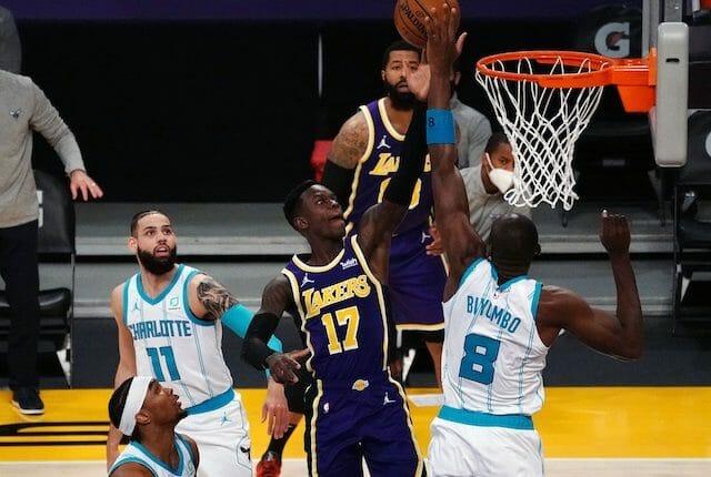 Dennis Schroder, Los Angeles Lakers, Charlotte Hornets