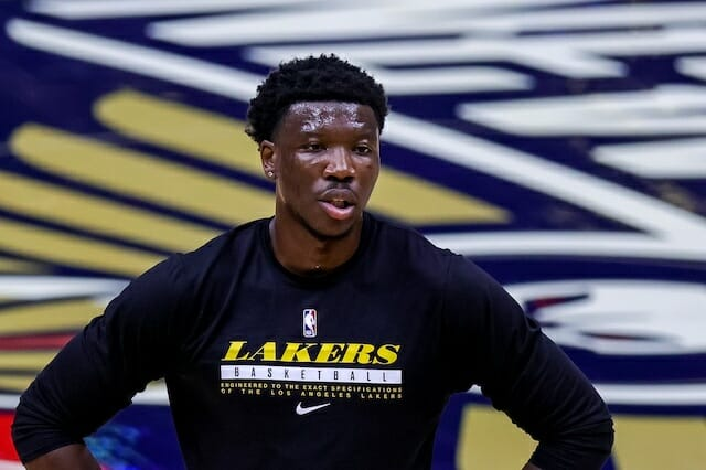 Devontae Cacok, Los Angeles Lakers