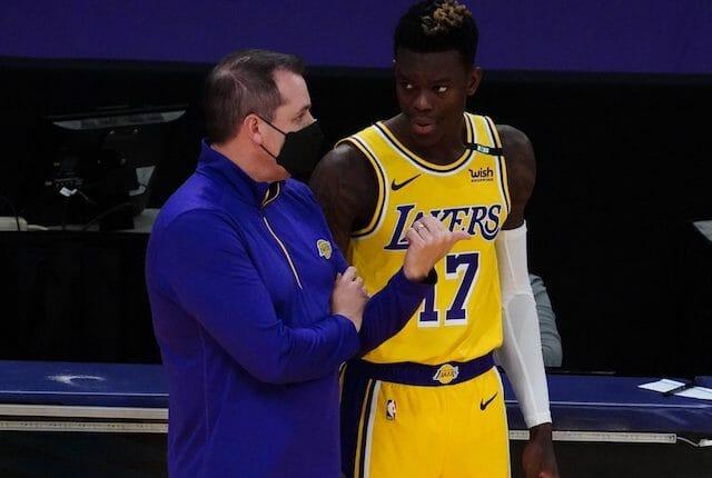 Frank Vogel, Dennis Schroder, Los Angeles Lakers
