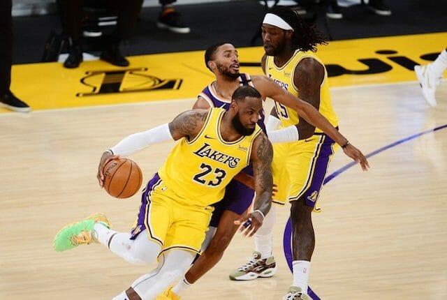 Lebron James, Montrezl Harrell, Lakers