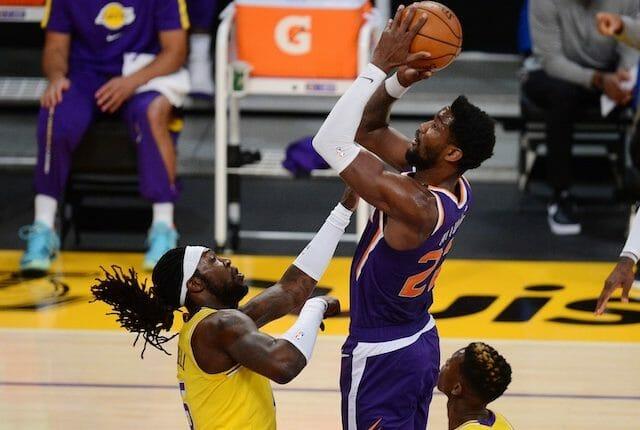 Montrezl Harrell, Los Angeles Lakers, Deandre Ayton, Phoenix Suns