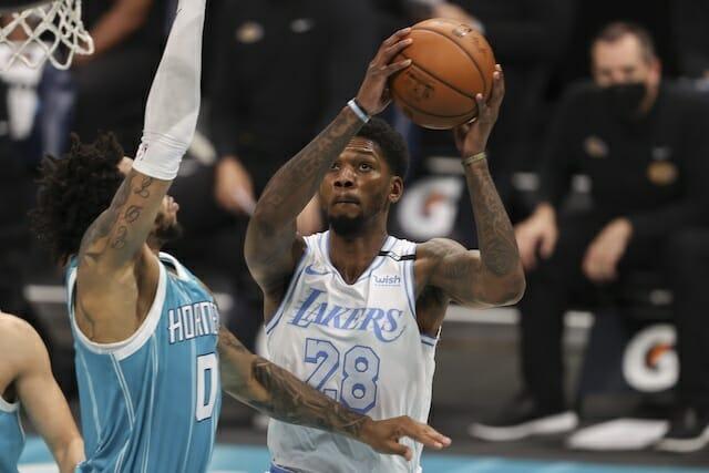 Alfonzo Mckinnie, Lakers