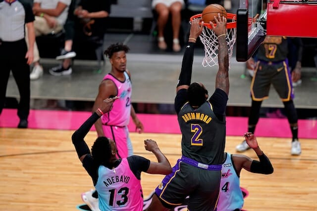 Andre Drummond, Los Angeles Lakers