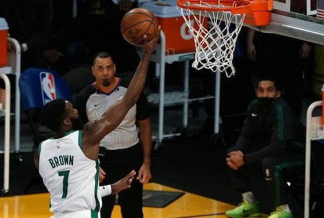 Jaylen Brown, Boston Celtics, Los Angeles Lakers