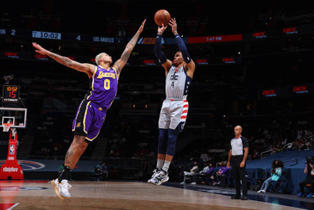 Russell Westbrook, Lakers, Kyle Kuzma, Wizards